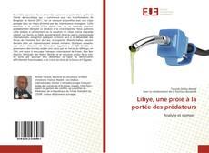 Capa do livro de Libye, une proie à la portée des prédateurs