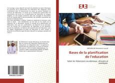Capa do livro de Bases de la planification de l'education
