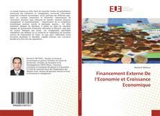Couverture de Financement Externe De l'Economie et Croissance Economique