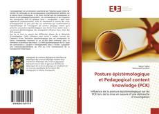 Copertina di Posture épistémologique et Pedagogical content knowledge (PCK)