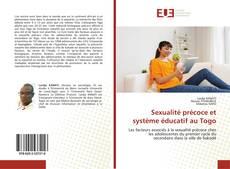 Capa do livro de Sexualité précoce et système éducatif au Togo