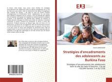 Bookcover of Stratégies d'encadrements des adolescents au Burkina Faso