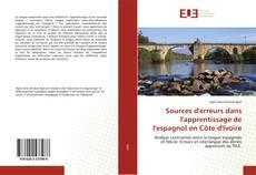 Couverture de Sources d'erreurs dans l'apprentissage de l'espagnol en Côte d'Ivoire