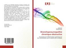 Buchcover von Bronchopneumopathie chronique obstructive