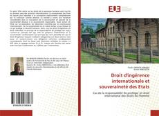 Bookcover of Droit d'ingérence internationale et souveraineté des Etats