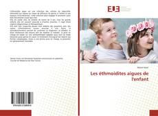 Copertina di Les éthmoidites aigues de l'enfant