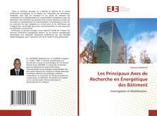 Capa do livro de Les Principaux Axes de Recherche en Énergétique des Bâtiment