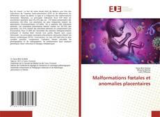 Capa do livro de Malformations fœtales et anomalies placentaires