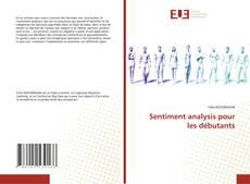 Bookcover of Sentiment analysis pour les débutants