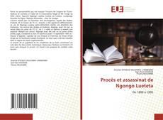 Capa do livro de Procès et assassinat de Ngongo Lueteta