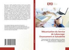 Copertina di Mécanisation du Service de Labourage: Financement et Solvabilité