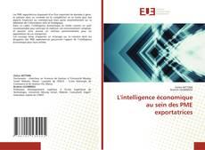 Capa do livro de L'intelligence économique au sein des PME exportatrices
