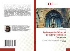 Buchcover von Églises pentecôtistes et pouvoir politique au Cameroun