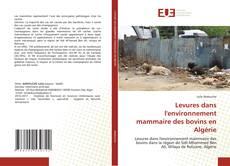 Couverture de Levures dans l'environnement mammaire des bovins en Algérie