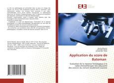 Capa do livro de Application du score de Bateman