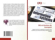 Capa do livro de SIG et Gestion de transport