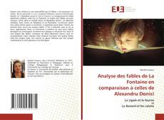 Copertina di Analyse des fables de La Fontaine en comparaison à celles de Alexandru Donici