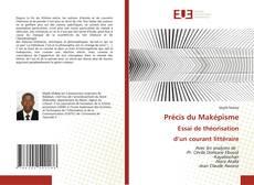 Capa do livro de Précis du Maképisme Essai de théorisation d'un courant littéraire