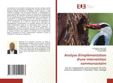 Analyse d'implémentation d'une intervention communautaire kitap kapağı