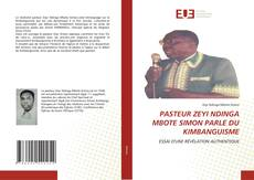 Capa do livro de PASTEUR ZEYI NDINGA MBOTE SIMON PARLE DU KIMBANGUISME