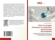 Capa do livro de Éveil aux langues étrangères en maternelle: apprentissage phonologique