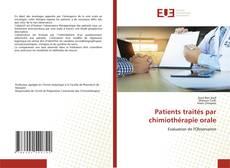 Buchcover von Patients traités par chimiothérapie orale