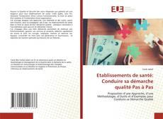 Bookcover of Etablissements de santé: Conduire sa démarche qualité Pas à Pas
