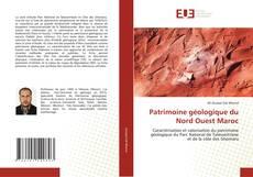 Capa do livro de Patrimoine géologique du Nord Ouest Maroc