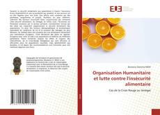 Capa do livro de Organisation Humanitaire et lutte contre l'insécurité alimentaire