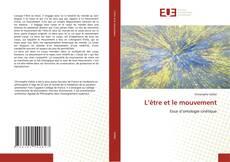 Capa do livro de L'être et le mouvement