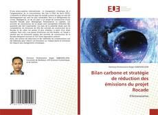 Capa do livro de Bilan carbone et stratégie de réduction des émissions du projet Rocade