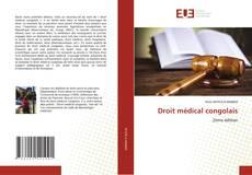 Couverture de Droit médical congolais