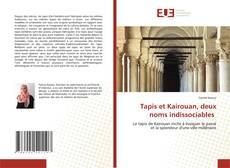 Portada del libro de Tapis et Kairouan, deux noms indissociables