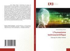 Bookcover of L'humanisme technoscientifique