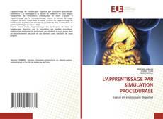L'APPRENTISSAGE PAR SIMULATION PROCEDURALE kitap kapağı