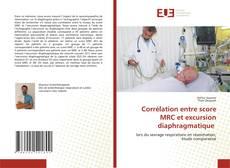 Corrélation entre score MRC et excursion diaphragmatique kitap kapağı