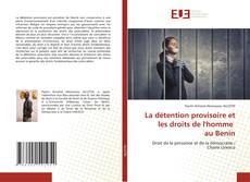 Portada del libro de La détention provisoire et les droits de l'homme au Benin