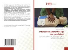Intérêt de l'apprentissage par simulation kitap kapağı