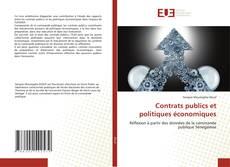Contrats publics et politiques économiques kitap kapağı