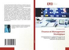 Finance et Management Stratégique的封面