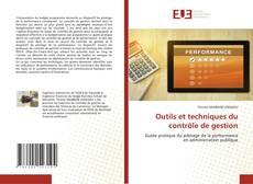 Couverture de Outils et techniques du contrôle de gestion