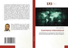 Bookcover of Commerce international