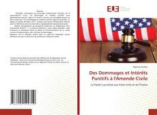 Bookcover of Des Dommages et Intérêts Punitifs à l'Amende Civile