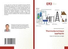 Bookcover of Thermodynamique appliquée