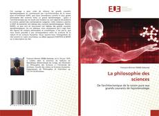 Borítókép a  La philosophie des sciences - hoz