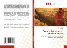 Copertina di Genre et Inégalités en Afrique Centrale