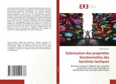 Capa do livro de Valorisation des propriétés fonctionnelles des bactéries lactiques