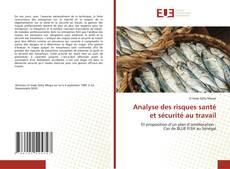Bookcover of Analyse des risques santé et sécurité au travail