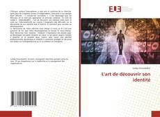 Buchcover von L'art de découvrir son identité