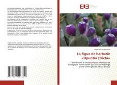 Portada del libro de La figue de barbarie «Opuntia stricta»